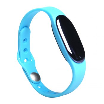 L7 Bluetooth 4.0 Smart Wristband Sleep Monitor Notifications Reminder Anti-lost Bracelet - BLUE BLUE