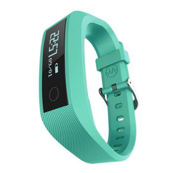 Y01 Heart Rate Smart Wristband Remote Camera Anti-lost Notifications Reminder Bracelet - GREEN GREEN