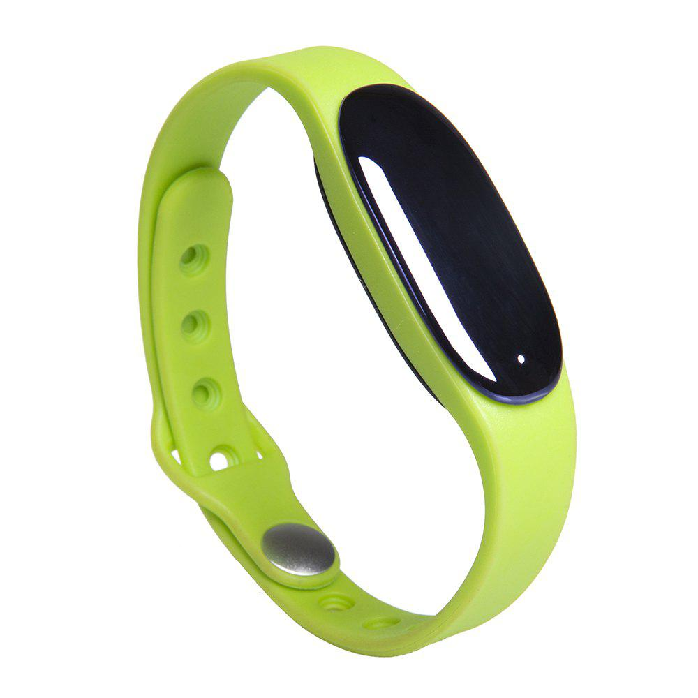 L7 Bluetooth 4.0 Smart Wristband Sleep Monitor Notifications Reminder Anti-lost Bracelet - GREEN