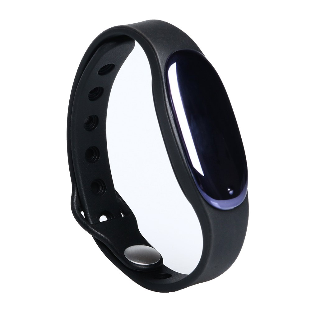L7 Bluetooth 4.0 Smart Wristband Sleep Monitor Notifications Rappel Anti-perdu Bracelet - Noir