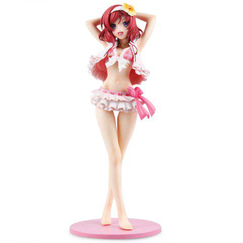 Figurine Animation Collectible ABS + PVC Action Figure - 9.06 inch - COLORMIX