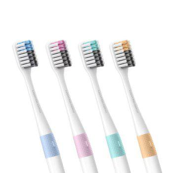 DOCTOR·B Deep Cleaning Toothbrush for Adult - 4PCS - WHITE WHITE