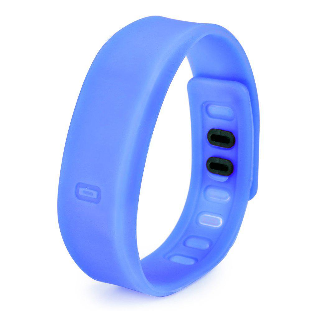 Ultralight Silicone Strap LED Watch, Blue