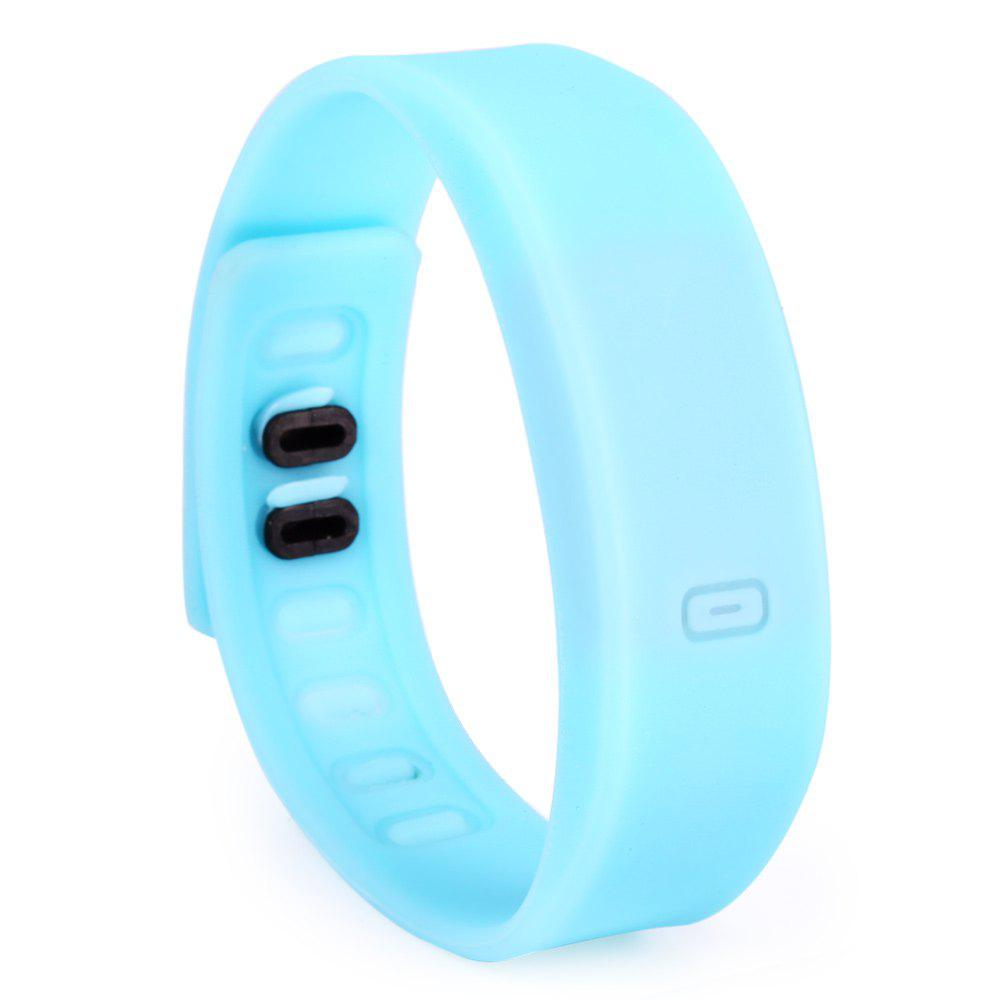 Ultralight Silicone Strap LED Watch, Ice blue