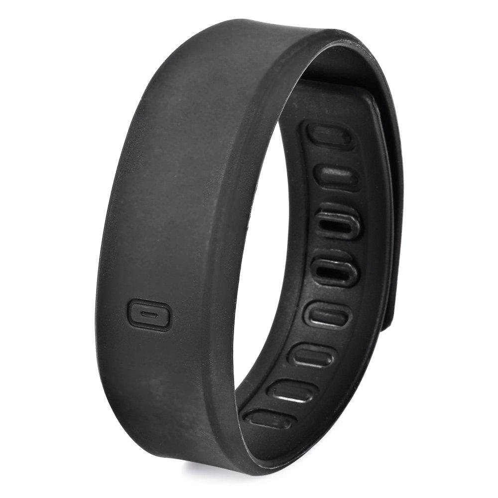 Ultralight Silicone Strap LED Watch, Black