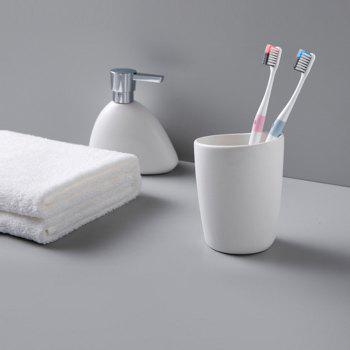 DOCTOR·B Deep Cleaning Toothbrush for Adult - 4PCS - WHITE