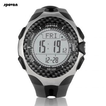 Spovan Mingo Military Digital Climbing Mountaineering Watch Thermometer Altimeter Multifunction Wristwatch Outdoor Sports