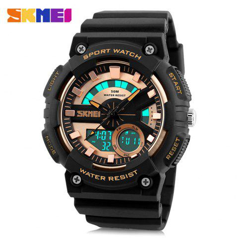 SKMEI 1235 Montre Sports Hommes - Or