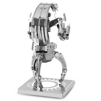 Destroyer Droid Métallique Educative Puzzle de construction DIY Assemblé  Jouet - Argent