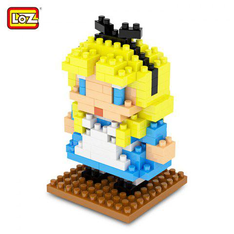 LOZ ABS Cartoon Figure Building Block Educational Movie Product Kid Toy - 179Pcs - COLORMIX STYLE 2