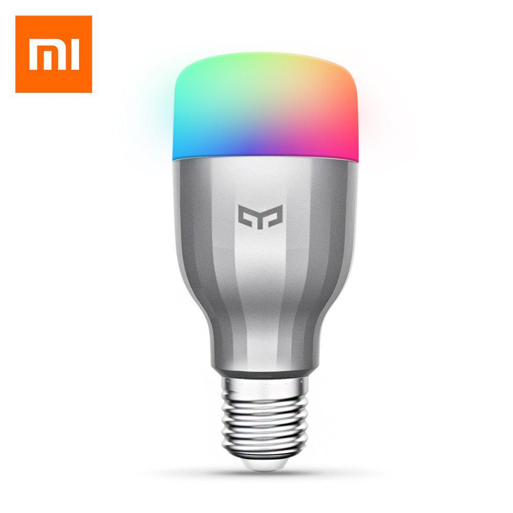 Xiaomi Yeelight RGBW Smart LED Bulb WiFi Enabled 16 Million Colors CCT Adjustment full hd 1080p 1 in 4 output hdmi splitter 2 0 hdr switcher video audio amplifier converter support 3d 4k 2k 60hz support hdcp2 2