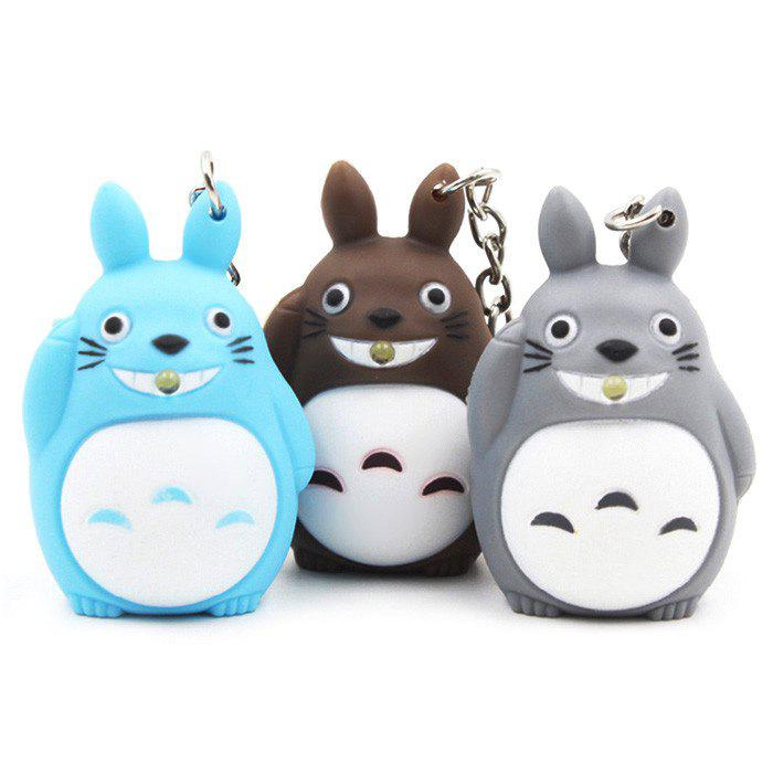 1pc Key Chain Hanging Pendant ABS Movie Product Voice Light Control Bag Decoration