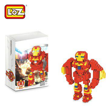 LOZ ABS Hero Style Building Block Educational Cartoon Movie Product Kid Toy - 489Pcs