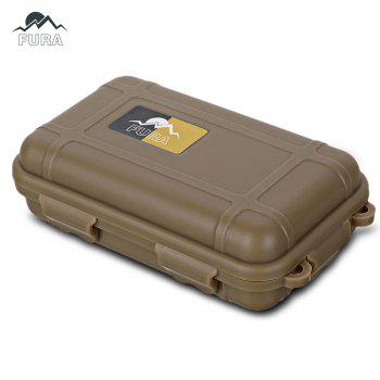 FURA Small Water Resistant Sealed Storage Case Box Anti-shock Camping Gear