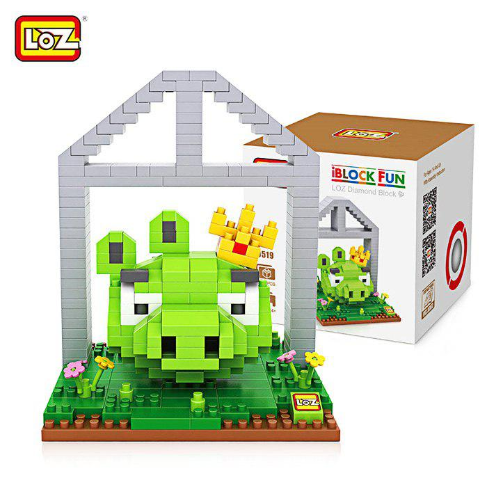 LOZ ABS Cartoon Figure Building Block Educational Movie Product Kid Toy - 330Pcs 1pc alien vs predator mixed human avp abs 23cm action figure model collectie kids toy movie film brinquedos opp bag