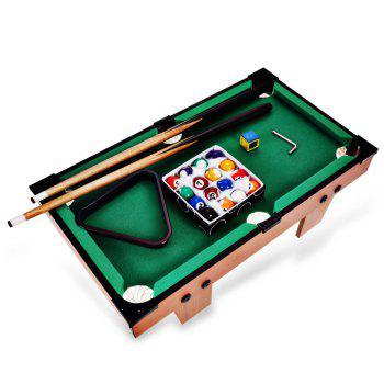 Mini Billiard Ball Pool Table Top Game Set Kid Toy