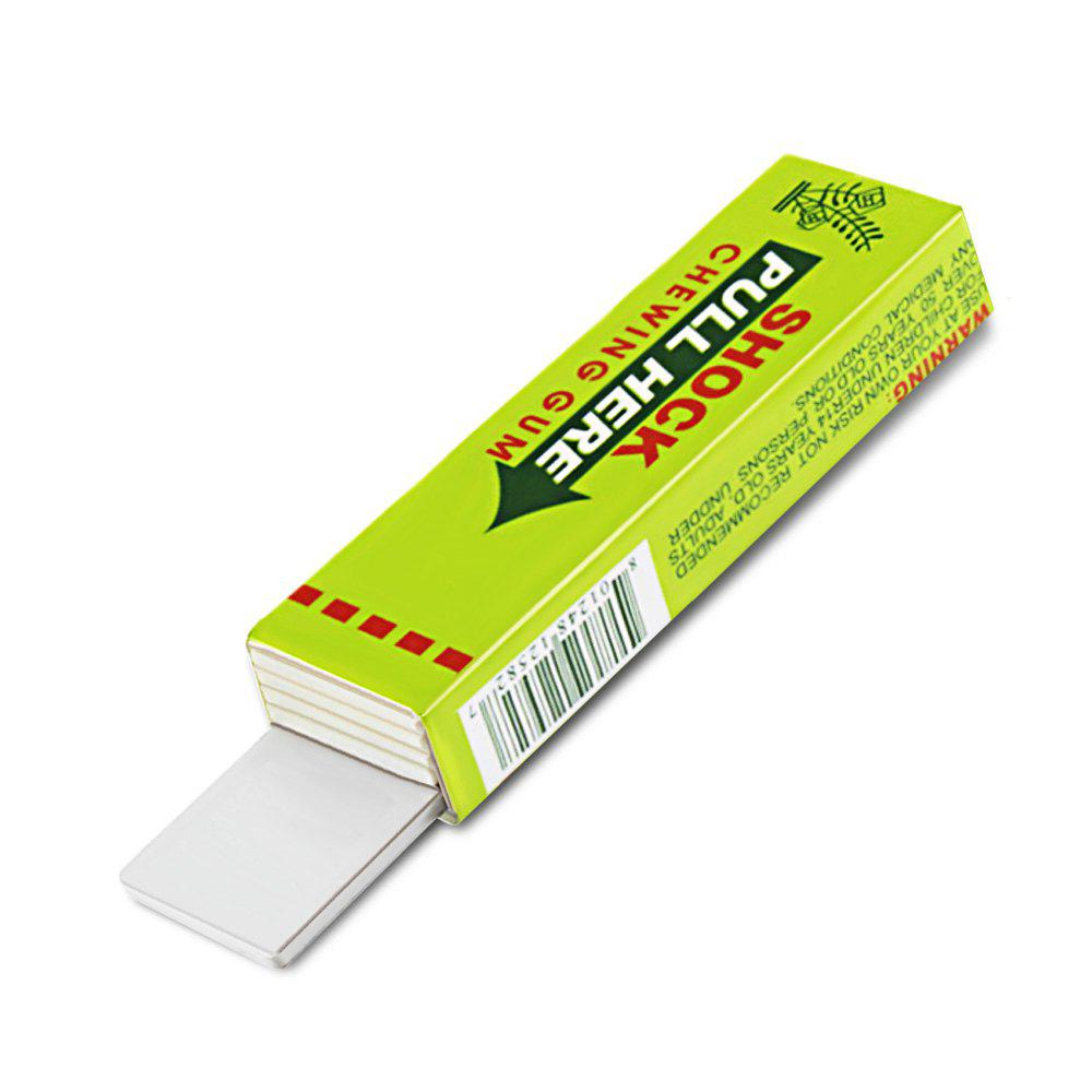 Safety Electric Shock Chewing Gum Tricky Joke Toy for Birthday Gift Halloween