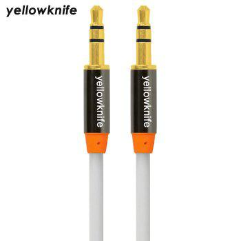 Yellowknife Universal 1m 3.5mm Jack Audio Câble