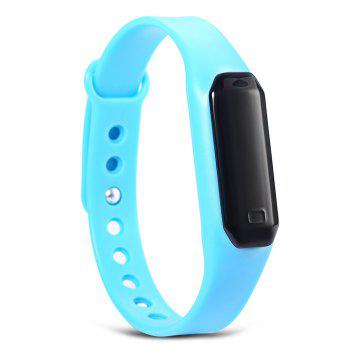 U01 OLED Touch Screen Smart Wristband with Dialog Bluetooth Chip Sleep Monitoring - LAKE BLUE