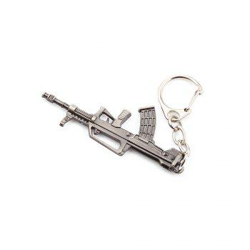 Key Chain Rifle Hanging Pendant Metal Keyring Online Military Game Toy for Bag Decoration - STYLE 7 STYLE 7
