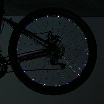 LEADBIKE A01 2 Modes 20 LED Water Resistant Bicycle Spoke Light -  COLORFUL
