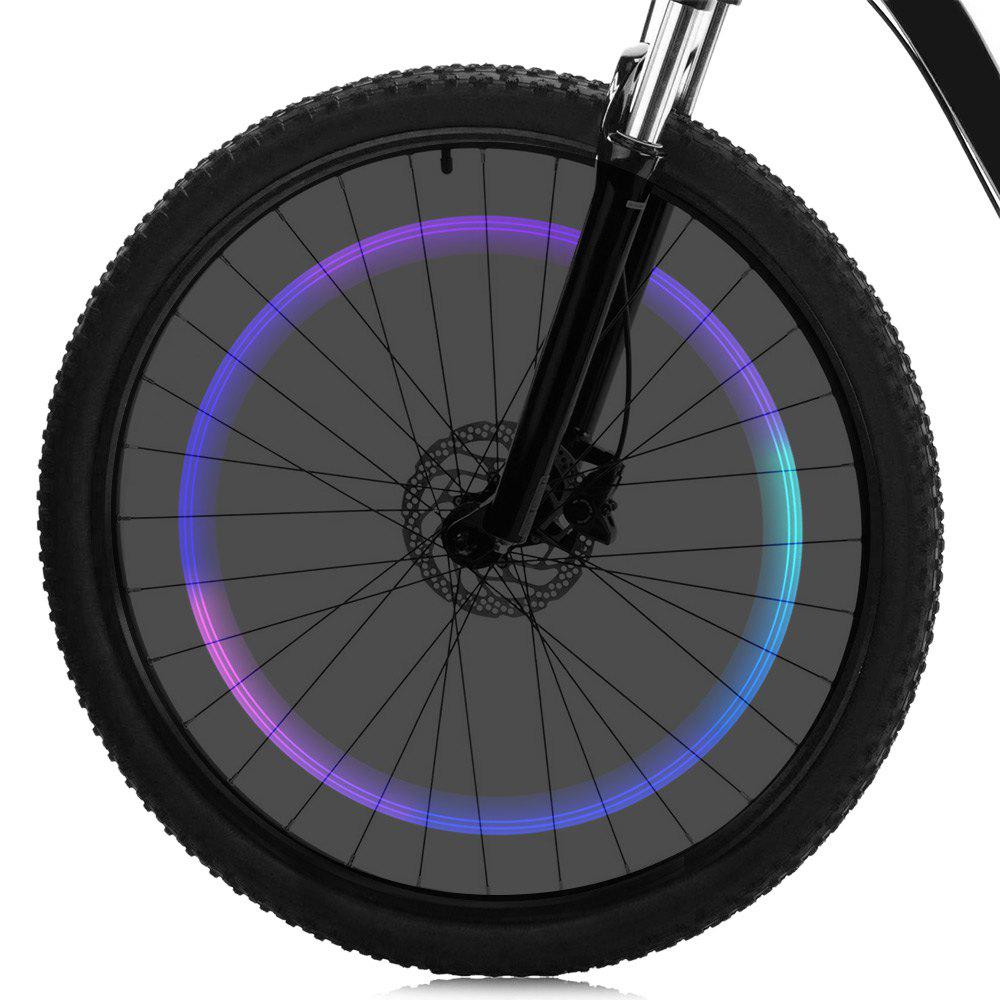 Bicycle Colorful Gas Nozzle / Valve Cap Light AG10 Button Battery Powered - COLORMIX