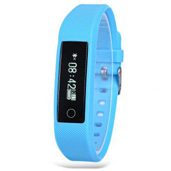 Y01 Heart Rate Smart Wristband Remote Camera Anti-lost Notifications Reminder Bracelet -  BLUE