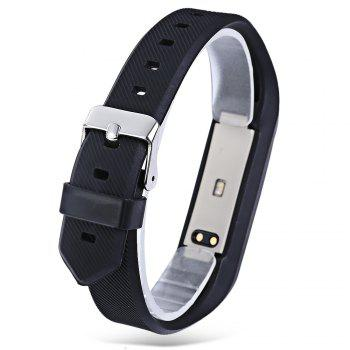 Y01 Heart Rate Smart Wristband Remote Camera Anti-lost Notifications Reminder Bracelet -  BLACK