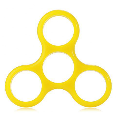 Frame for Triangle Finger Gyro - YELLOW