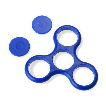 Frame for Triangle Finger Gyro - BLUE