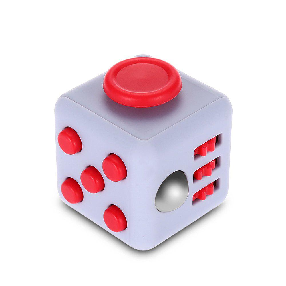 Fidget Magic Cube Style Stress Reliever Pressure Reducing Toy for Office Worker
