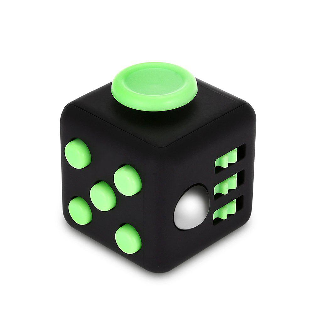 Fidget Magic Cube Style Stress Reliever Pressure Reducing Toy for Office Worker magnetic magic metal toy gel ink pen for fidget autism and adhd gift reduce pressure stress hand spinning wheel fingers spiner