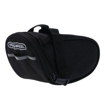 Roswheel 13567 Outdoor Cycling Mountain Bike Bicycle Saddle Bag Seat Tail Pouch - BLACK