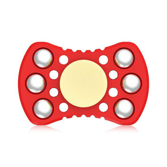 ABS ADHD Fidget Spinner with R188 Bearing Stress Relief Toy Relaxation Gift for Adults