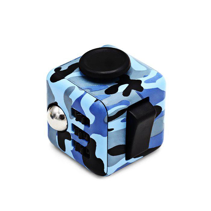 Fidget Magic Cube Style Stress Reliever Anti-stress Toy for Office Worker [bainily]hot sale anti stress reliever ball toy resin relax doll stress relieve action figure novelty toys anti stress ball gift