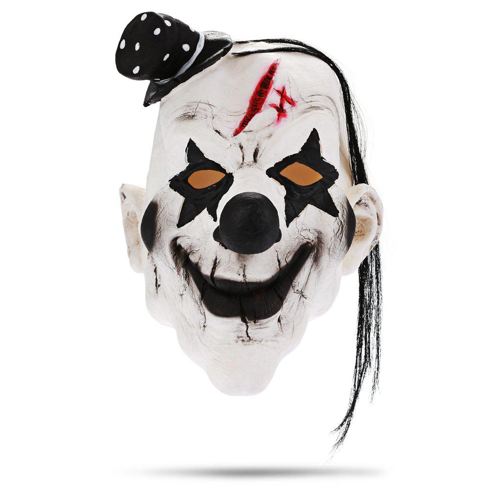 Clown Cosplay Mask Costume Party Character Tricky Toy creative toy funny toy family interactive games spoof russian roulette model balloon gun party tricky creative gun adult tricky