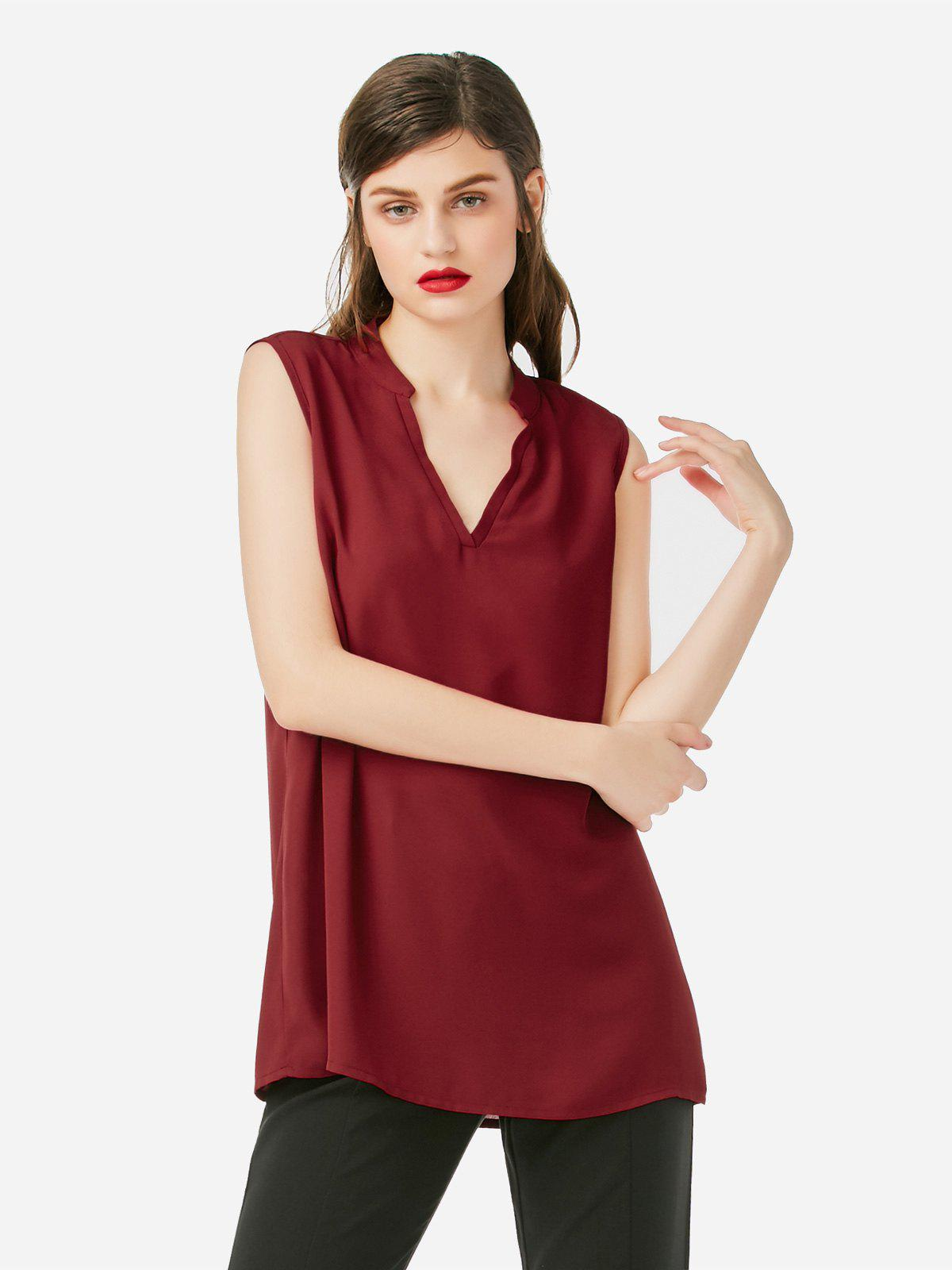 V-neck Sleeveless Ta