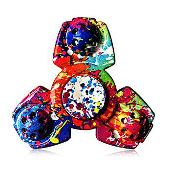 Colorful Triangular ADHD Adult Fidget Spinner Funny Stress Reliever Relaxation Gift