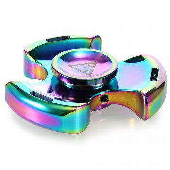Three-blade Gyro Stress Reliever Pressure Reducing Toy - COLORFUL