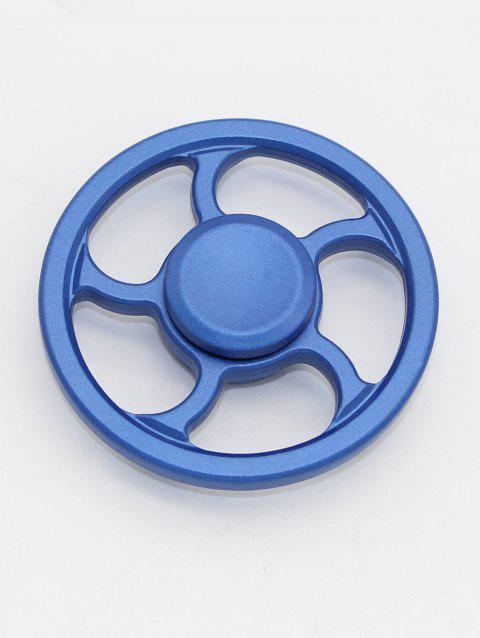 Wheel Fingertip Spinning Top Finger Gyroscope Focus Toy Stress Reliever - BLUE
