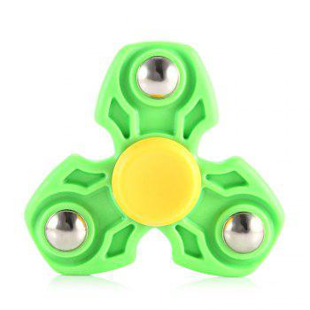 ABS Durable Gyro Stress Reliever Pressure Reducing Toy for Office Worker - GREEN