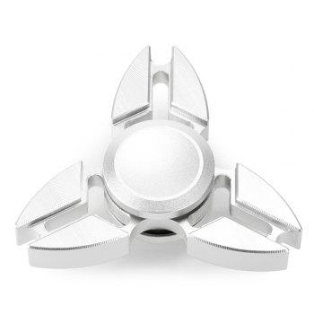 Fashion Gyro Stress Reliever Pressure Reducing Toy for Office Worker - SILVER