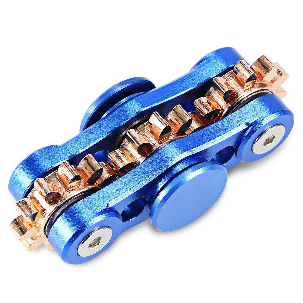 3-Gear Linkage Fidget Spinner Stress Relief Toy Relaxation Gift for Adults four gear linkage fidget spinner zinc alloy stress relief toy relaxation gift for adults