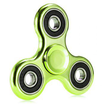 Electroplated Tri-wing Fidget Spinner Stress Relief Product Adult Fidgeting Toy