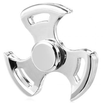 Three-leaf Spinning Blade ADHD Fidget Tri-spinner Zinc Alloy + R188 Stainless Steel Stress Relief Product Adult Fidgeting Toy