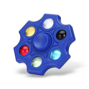 Six-blade Fidget Spinner Stress Reliever Toy Relaxation Gift - BLUE BLUE