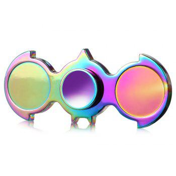 Two-wing Zinc Alloy Fidget Spinner Stress Reliever Toy Relaxation Gift