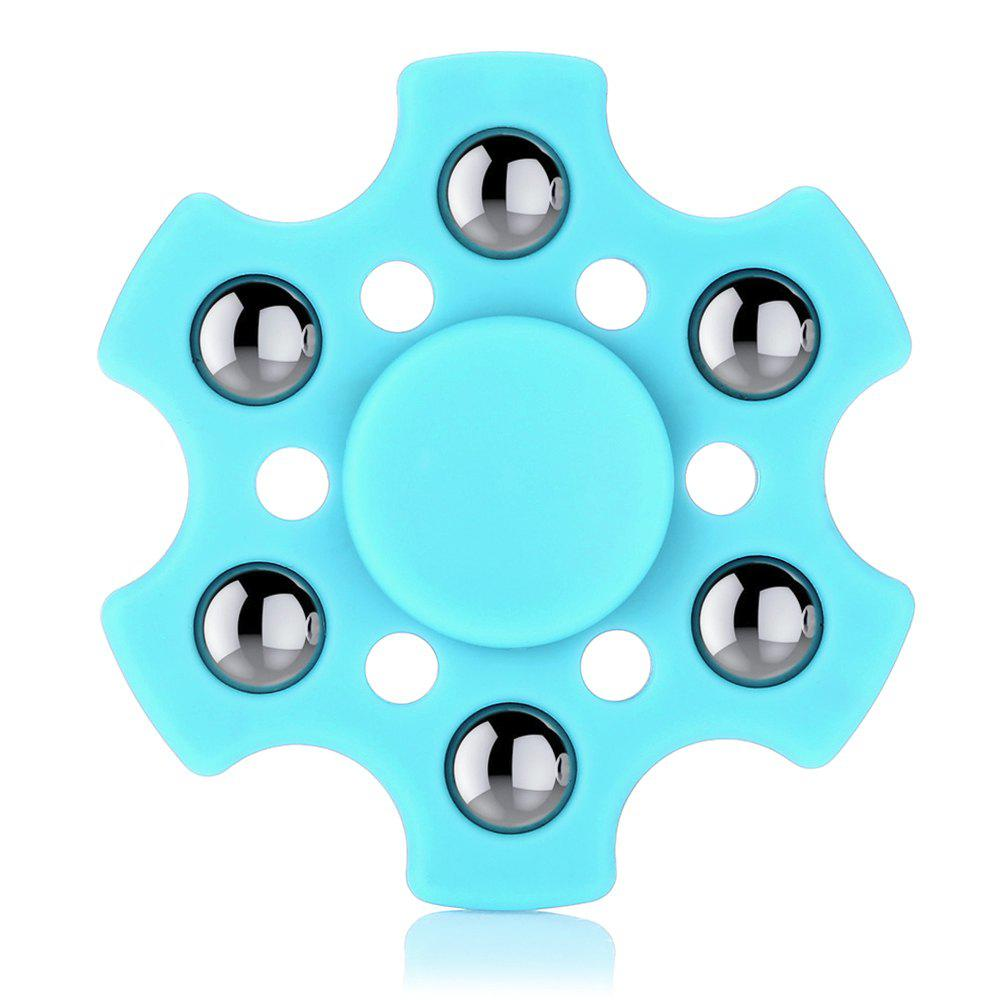 Hexagon ABS Fidget Spinner with r188 Bearing Stress Relief Product Adult Fidgeting Toy 5 10 pcs super fast 608 7 steel ball bearing for for hand spinner fidget spinners accessorie adult toy for kid