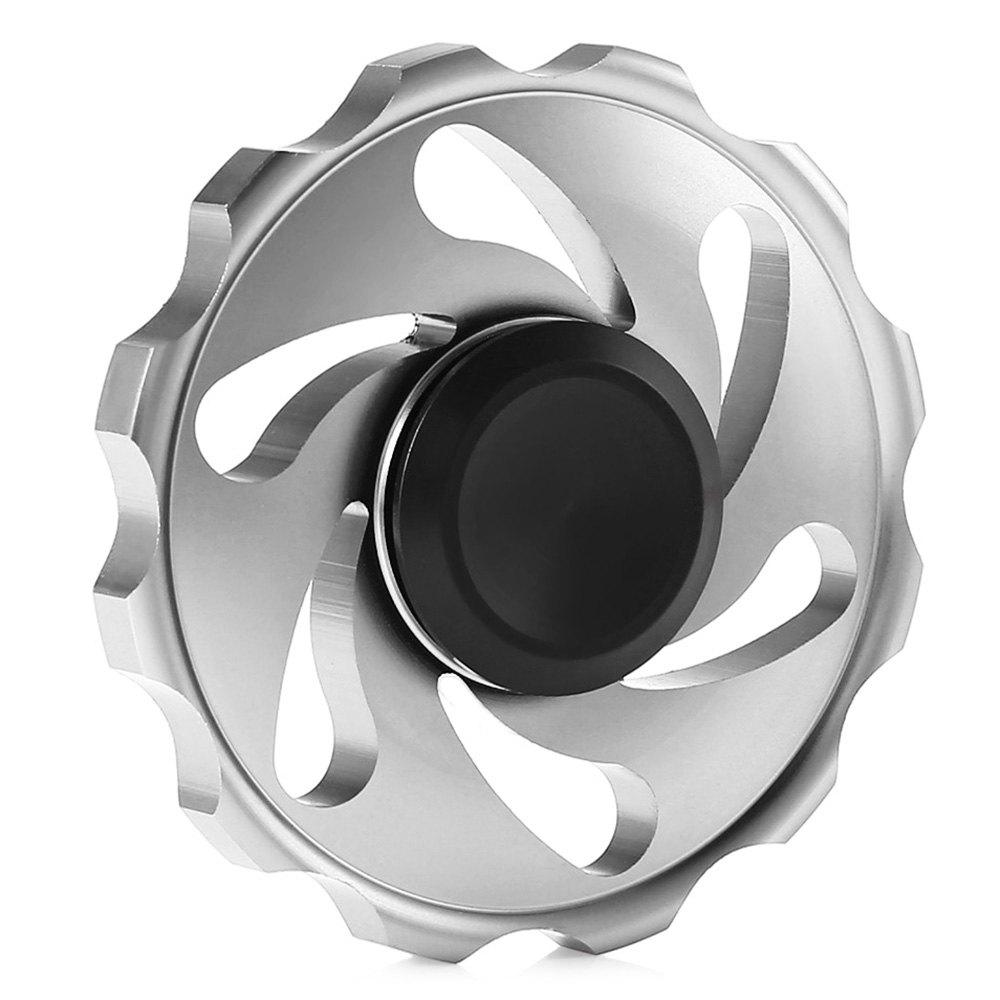Circular Spinning Blade Aluminum Alloy Fidget Spinner Stress Reliever Toy Relaxation Gift circular spinning blade aluminum alloy fidget spinner stress reliever toy relaxation gift