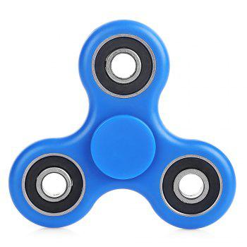 ABS Plastic ADHD Fidget Spinner Stress Reliever Toy Relaxation Gift - BLUE BLUE